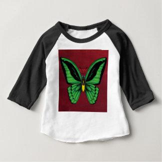 Cairns Birdwing Butterfly Baby T-Shirt