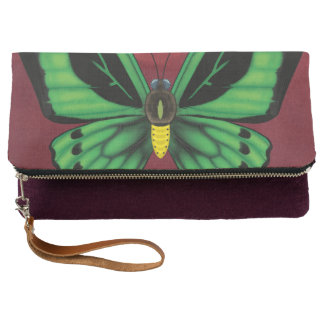Cairns Birdwing Butterfly Clutch