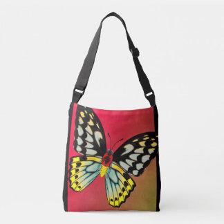 Cairns Birdwing Butterfly, Dorsal and Ventral Crossbody Bag