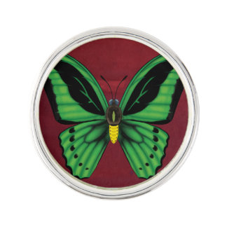 Cairns Birdwing Butterfly Lapel Pin