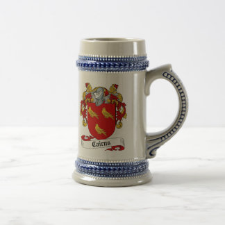 Cairns Coat of Arms Stein - Family Crest