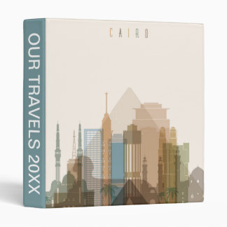 Cairo, Egypt | City Skyline 3 Ring Binder