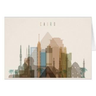 Cairo, Egypt | City Skyline Card