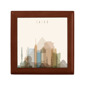 Cairo, Egypt | City Skyline Gift Box