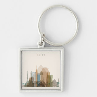 Cairo, Egypt | City Skyline Keychain