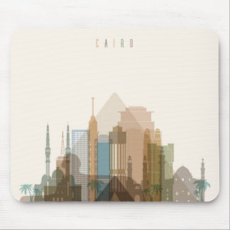 Cairo, Egypt | City Skyline Mouse Pad