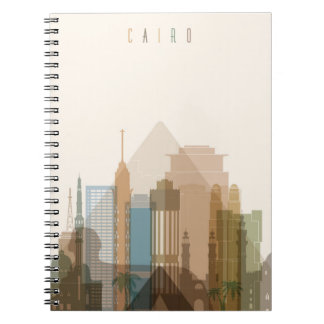 Cairo, Egypt | City Skyline Notebook