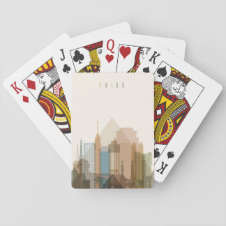Cairo, Egypt | City Skyline Playing Cards