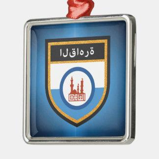 Cairo Flag Metal Ornament