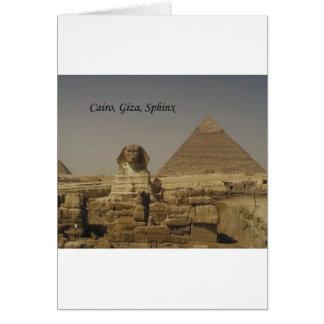 Cairo, Giza, The Sphinx (St.K.) Card