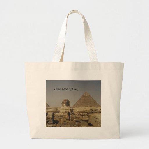 Cairo, Giza, The Sphinx (St.K.) Jumbo Tote Bag