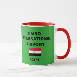 Cairo International Airport Mug