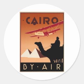 Cairo (St.K) Classic Round Sticker