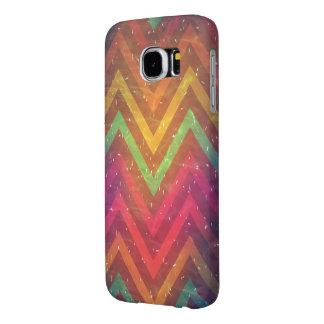 Caisse abstraite colorée de SamsungGalaxy S6