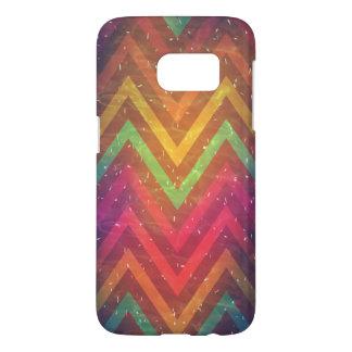 Caisse abstraite colorée de SamsungGalaxy S7 Coque Samsung Galaxy S7