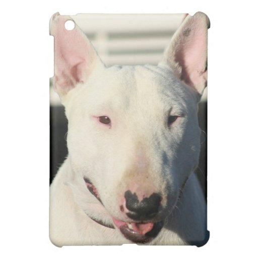 Caisse anglaise de point d'ipad de bull-terrier coque pour iPad mini