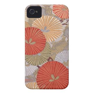 Caisse audacieuse de Blackberry de tissu japonais Coque iPhone 4 Case-Mate