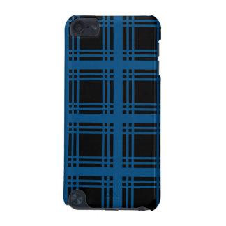 Caisse bleue de contact d iPod de bois d ébène d