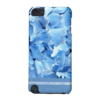 Caisse bleue de contact d'iPod d'hortensia Coque iPod Touch 5G