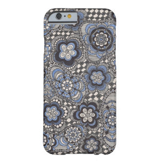Caisse bleue de fantaisie de téléphone de denim