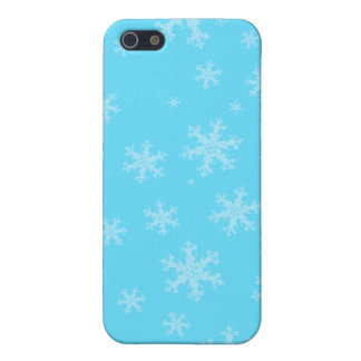 Caisse bleue de l'iPhone 5 C de flocon de neige iPhone 5 Case