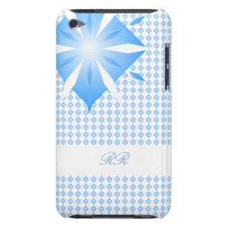 Caisse bleue du contact 4G d'iPod de forme de Coque iPod Touch Case-Mate