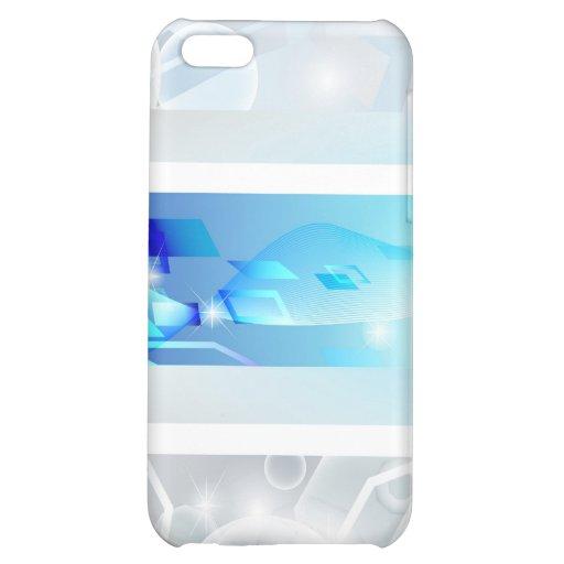 Caisse brillante sérieuse de point coque iPhone 5C