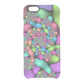 Caisse colorée de déflecteur de Clearly™ de Coque iPhone 6/6S