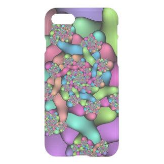 Caisse colorée de déflecteur de Clearly™ de Coque iPhone 7