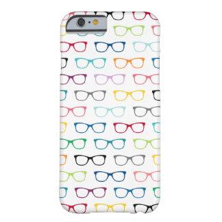 Caisse colorée de l'iPhone 6 de motif en verre de Coque iPhone 6 Barely There