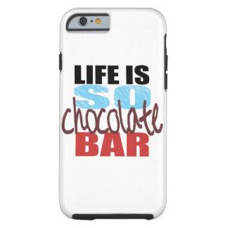 caisse de barre de chocolat de l'iPhone 6 ! Coque iPhone 6 Tough