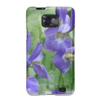 Caisse de galaxie de Samsung d'ampoules d'iris