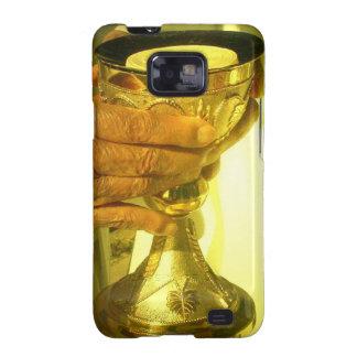 Caisse de galaxie de Samsung de calice Étui Samsung Galaxy SII