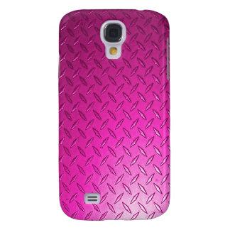 Caisse de la galaxie S4 de Samsung de rose de plat Coque Galaxy S4