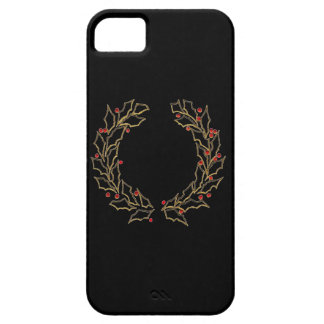 Caisse de la guirlande iPhone5 de Noël Coque Barely There iPhone 5