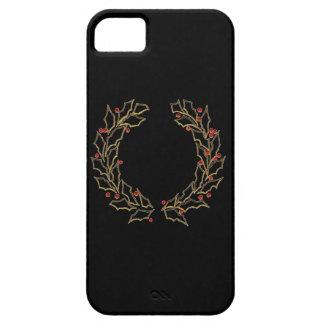 Caisse de la guirlande iPhone5 de Noël Coque Barely There iPhone 5