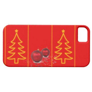 Caisse de l'arbre de Noël iPhone5 Coques iPhone 5
