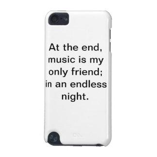 Caisse de motivation d'iPod de citation de musique Coque iPod Touch 5G