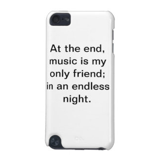 Caisse de motivation d'iPod de citation de musique Coque iPod Touch 5G