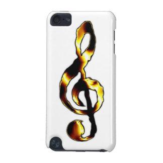 Caisse de point de contact d'iPod de musique