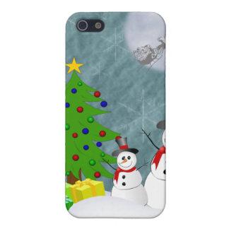Caisse des bonhommes de neige iPhone4 iPhone 5 Case
