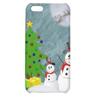 Caisse des bonhommes de neige iPhone4 Coques iPhone 5C