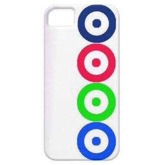 Caisse des cercles iPhone5 Coque Barely There iPhone 5