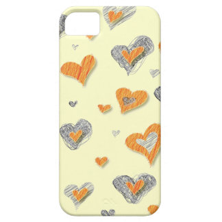 Caisse des coeurs iPhone5 Coque Barely There iPhone 5
