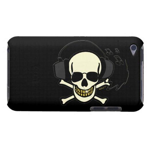 Caisse d'iPod de crâne de musique Coque iPod Touch Case-Mate