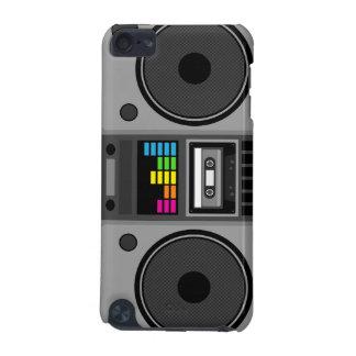 Caisse d'iPod de musique de Boombox