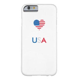 Caisse du portable 6/6s des Etats-Unis Coque Barely There iPhone 6