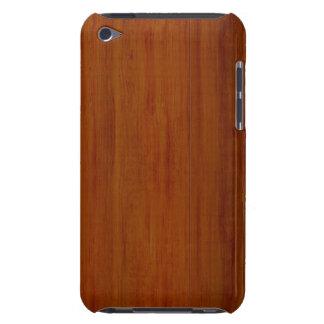 Caisse en bois foncée d'IPod Coques iPod Touch