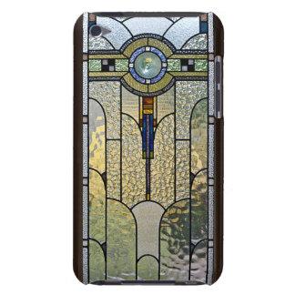 caisse en verre souillée d'art déco de contact étuis iPod touch
