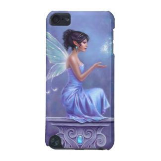 Caisse féerique bleue et pourpre d'Opalite d'iPod Coque iPod Touch 5G